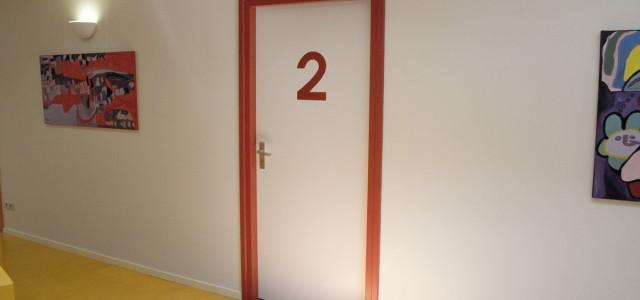 deur kamer 2